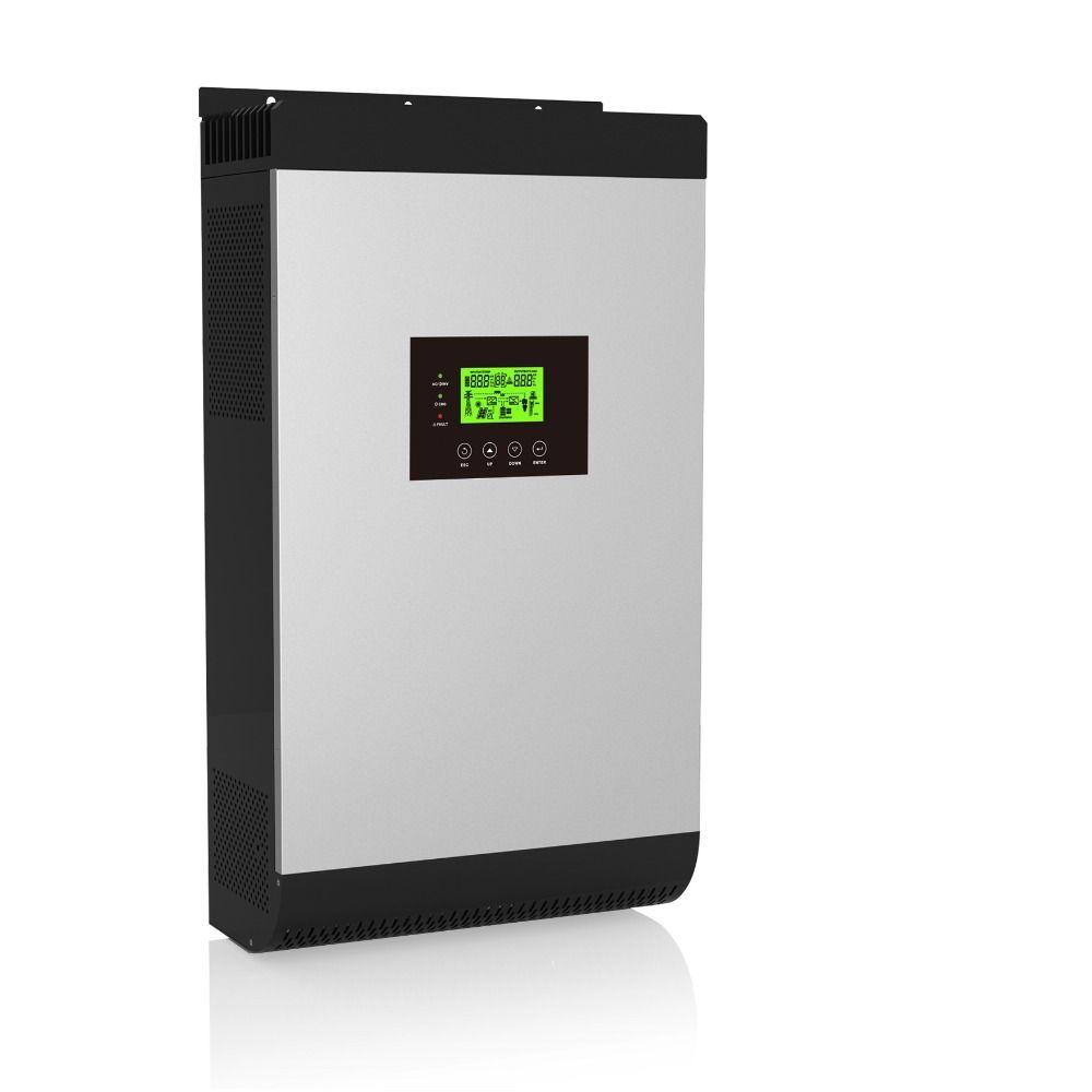 Hybrid Inverter 4000 watt 48V220V 5000Kva auf/off Grid Inverter mit 80A MPPT Inverter und WIFI Monitor Reinen welle Inverter