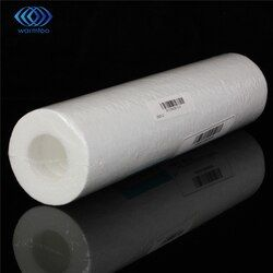 5 Micron Water Filter White Water Purifier 10 inch Cartridge Reverse Osmosis RO.Sediment PP Cotton Rust Removing Particles