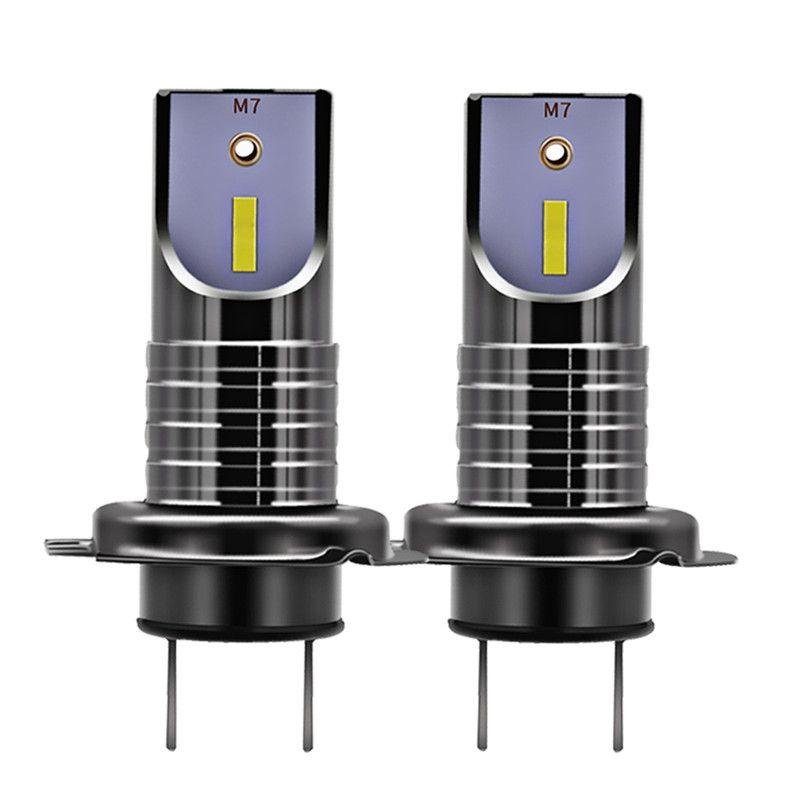 2 Pcs H7 LED Headlight Bulbs Conversion Kit CSP Chips 20000LM 50W 9005 9006 Auto Headlight Bulb Car Light H11 6000K 12V 24V
