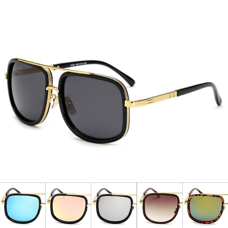 Oversized Men mach one Sunglasses men luxury brand Women Sun Glasses Square Male retro de sol female sunglasses for men women