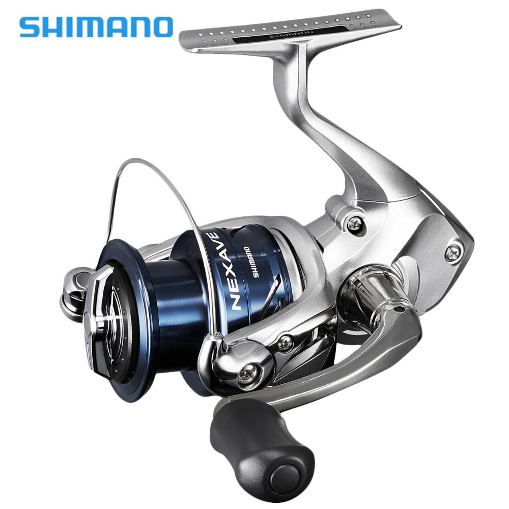 2018 New Shimano Nexave FE Spinning Reel 1000 2500HG C3000HG 4000HG 5.0:1/5.8:1/6.2:1 Front Drag 4BB Saltwater Carp Fishing Reel