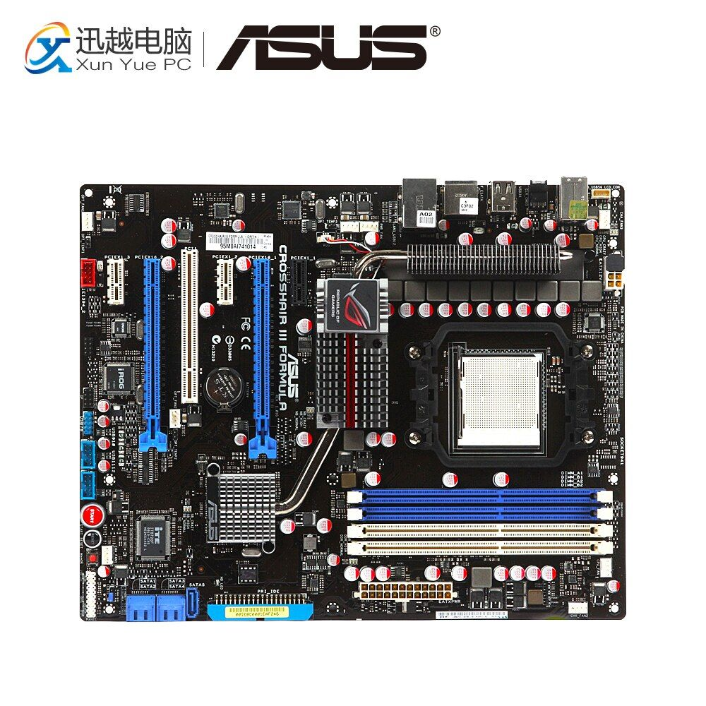 Asus Crosshair III Formula Desktop Motherboard AMD 790FX Socket AM3 DDR3 USB2.0 ATX