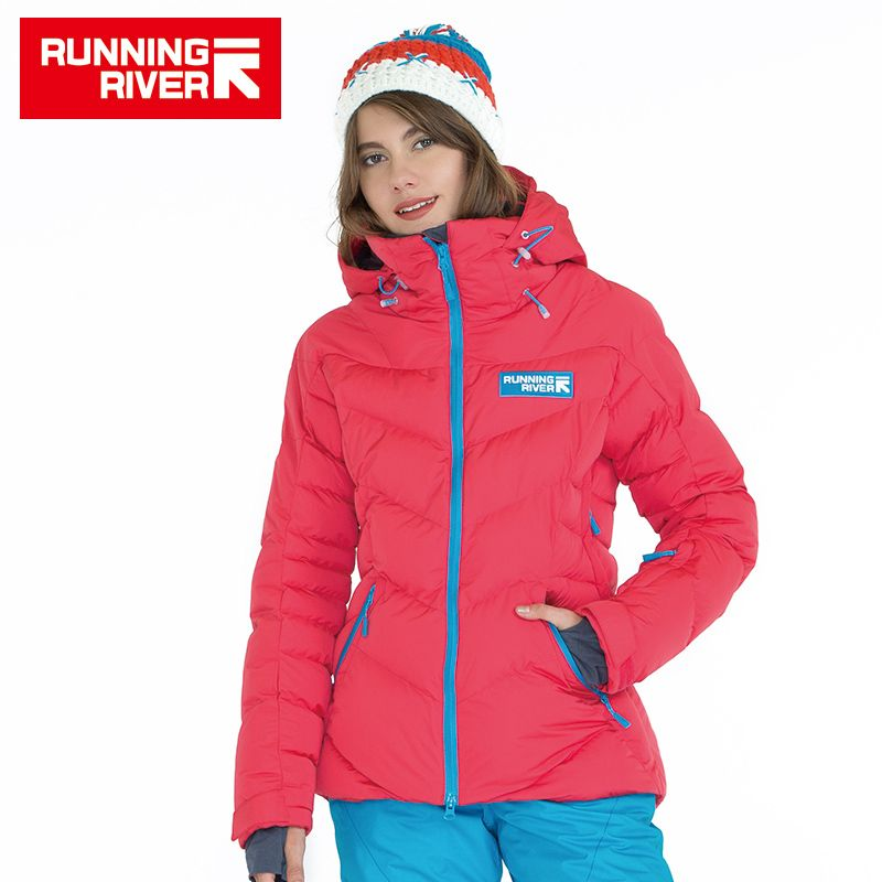 RUNNING RIVER Brand High Quality Women Sports Down Jacket Winter Warm Hiking & Camping Jackets For Woman 5 Colors 6 Sizes #D5144