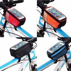 Велосипедные сумки с сенсорным экраном MTB горный велосипед Рама передняя трубка сумка для хранения для 5,0 дюймов мобильного телефона водоне...