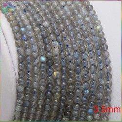 Saham Dijual Kualitas Baik Warna Cahaya Labradorite Longgar Round Beads 3.5 Mm, 4 Mm, 6 Mm, 7 Mm, 8 Mm, 10 Mm