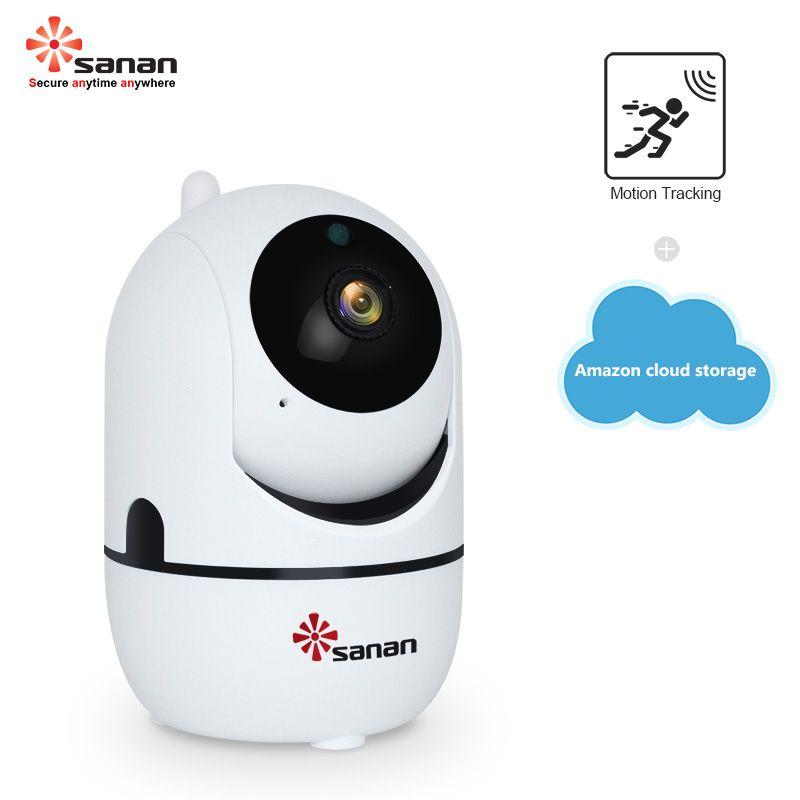 SANAN 1080P 720P Wireless IP Camera Cloud Wifi Camera Smart Auto Tracking Human Home Security Surveillance CCTV Camera YCC365