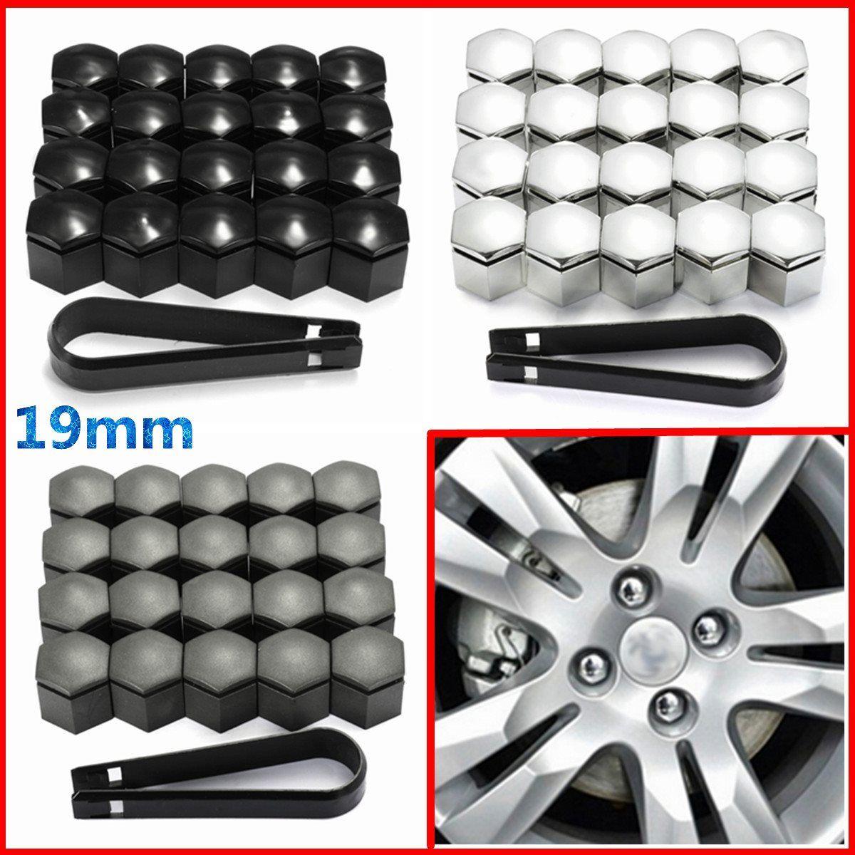 20 stücke 19mm Radmutter Abdeckung Bolzen Schutz Für Vauxhall Opel Romove Werkzeug Key