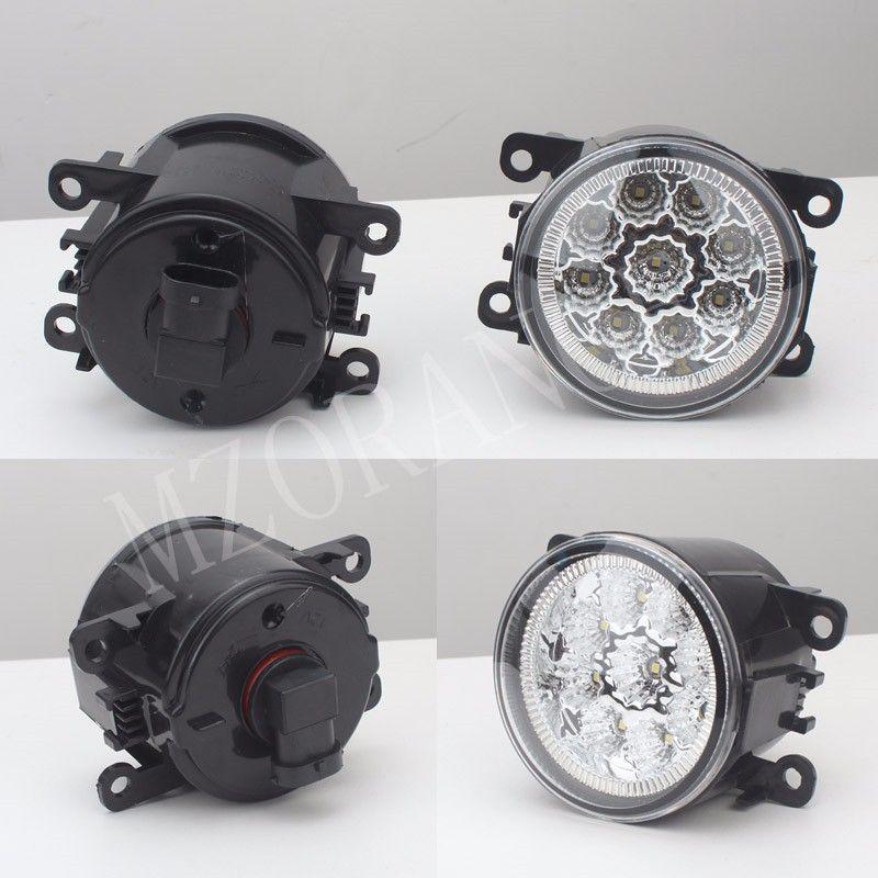 2 pièces voiture-style brouillard lampes éclairage LED lumières pour FORD pour TRANSIT TOURNEO TRANSIT FOCUS personnalisé MK2/3 plate-forme châssis FUSION