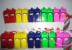 24PCS Plastic Whistle With Lanyard for Boats Raft Party Sports Games Emergency Survival All Brand New Items Hot Sale Wholesale