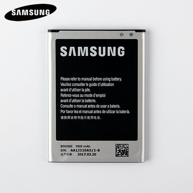 100% D'origine Remplacement Batterie B500BE Pour Samsung GALAXY S4 Mini I9190 I9192 I9195 I9198 Véritable Batteries 1900 mAh