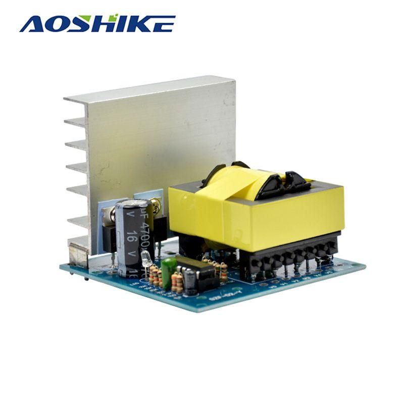 Aoshike DC-AC Converter 12V to 220V 380V 18V AC 500W Inverter Board Pre booster module