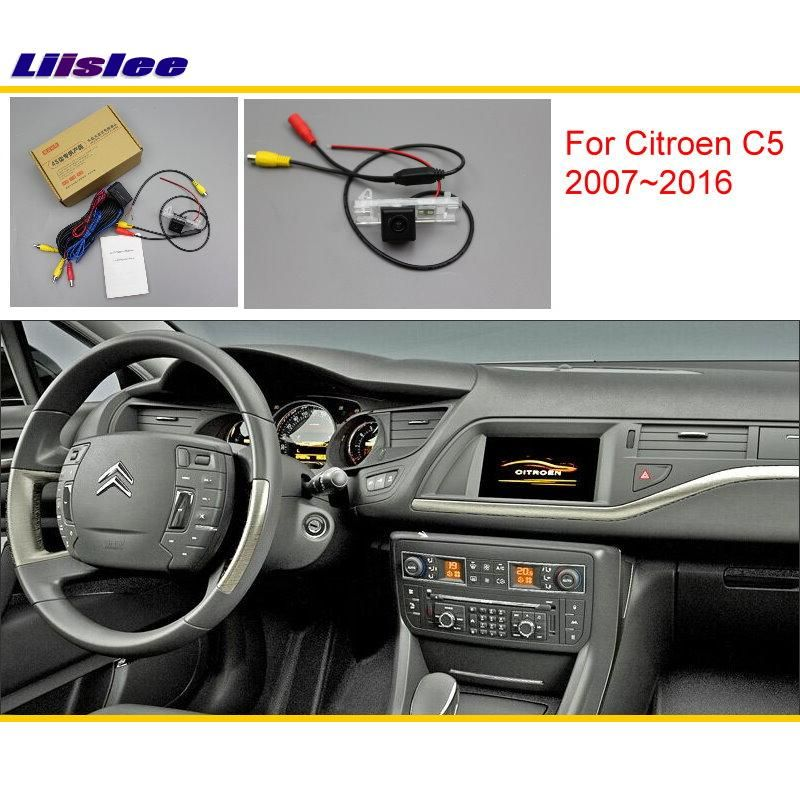 Liislee For Citroen C5 2007~2016 Original Screen Compatible / Car Rear View Camera / Back Up Reverse Camera Sets