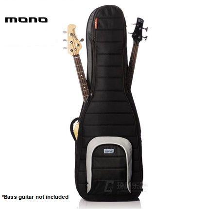 MONO M80 Dual Bass Hybrid Gig Bag - Black