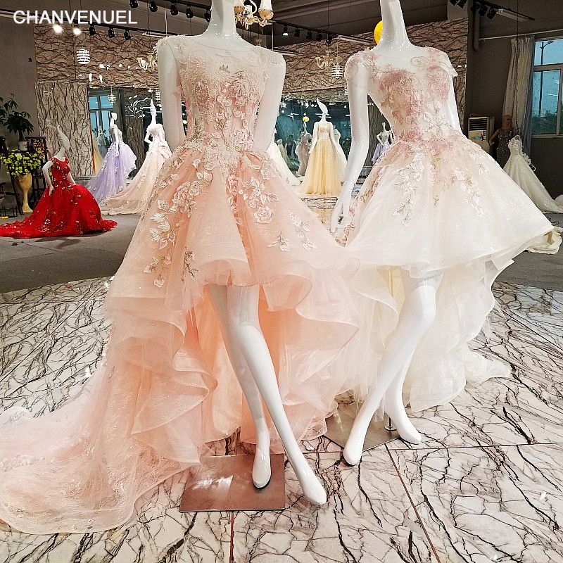 LS00278 lace up flowers luxury generous gowns evening dresses 2018 evening party abendkleider vestido de noche vestidos de gala