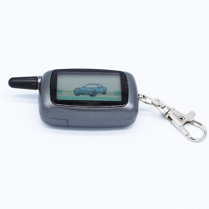 Starline A9 LCD Remote Controller Keychain /Remote Key Chain Fob for Vehicle Security Two Way Car Alarm System Starline Twage A9