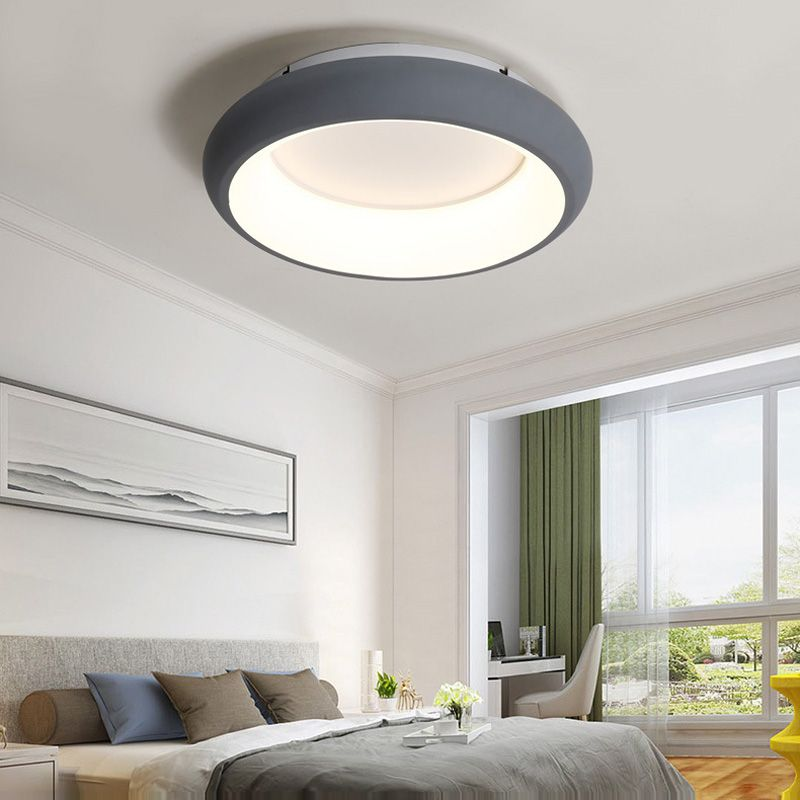 2017 Special Offer New Ce Scandinavian Modern Circular Living Room Lights Personality Ceiling Light Warm Bedroom Lamp Simple