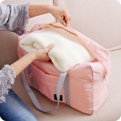 2017 Travel Bag Large Capacity Men Hand Luggage Travel Duffle Bags Nylon Weekend Bags Multifunctional Women Travel Bags 4 Colors