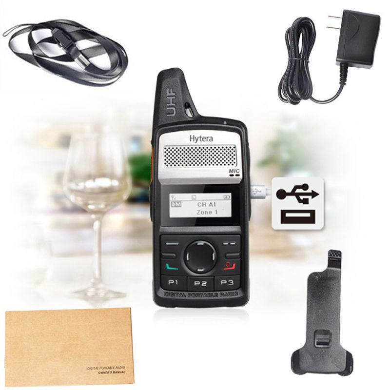 DHL Free shipping Original HYT DMR Digital Walkie Talkie Hytera PD-360/PD-365/TD-360 UHF 400-440MHz FM handheld transceiver