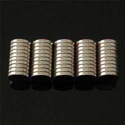 100 pcs Dia 10mm x 2mm N35 Aimants Ronds En Vrac NdFeB Néodyme Disque Rare Earth Aimants Puissant 10x2mm Aimant