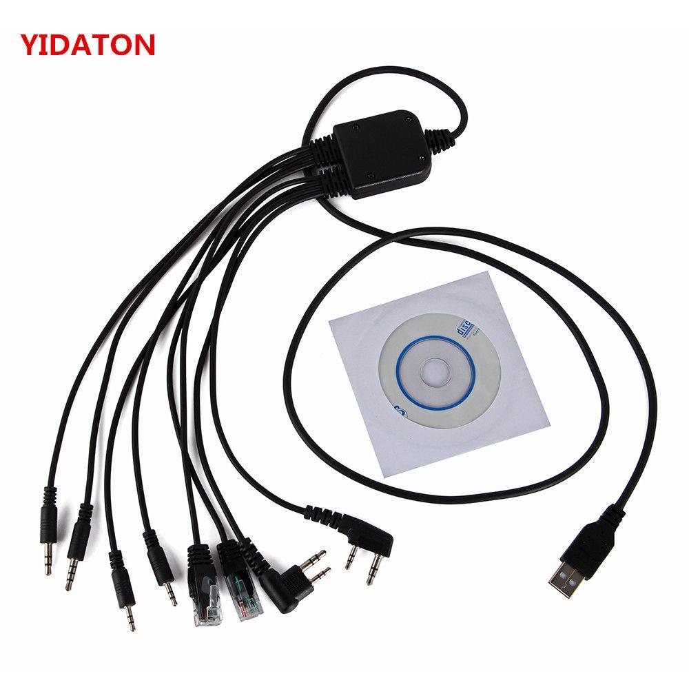 Multi-funktion programmierung kabel walkie talkie baofeng uv 5R UV 82 888 s für kenwood für ICOM hytera für motolora programm kabel