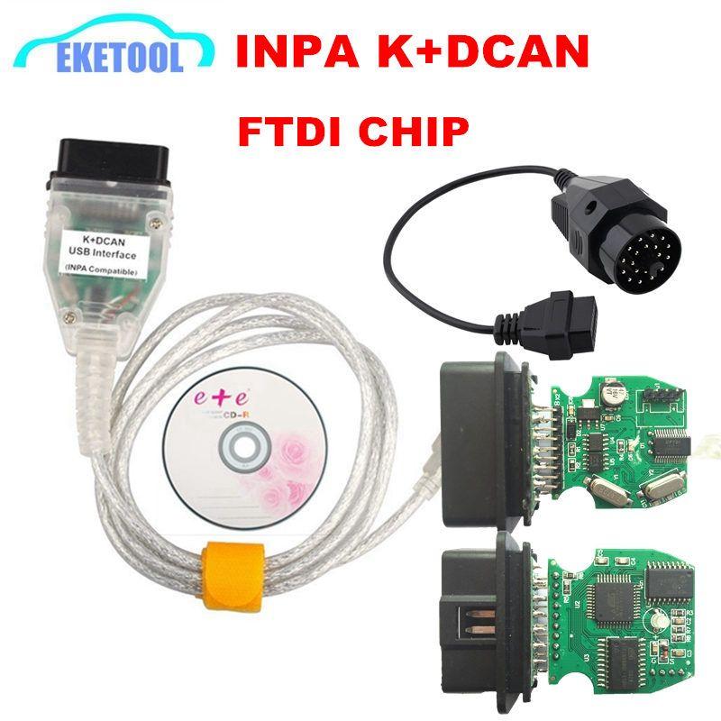 Meilleure qualité FT232RL FT232RQ carte à puce complète pour BMW INPA K DCAN K + peut Interface de Diagnostic USB Compatible pour BMW Series