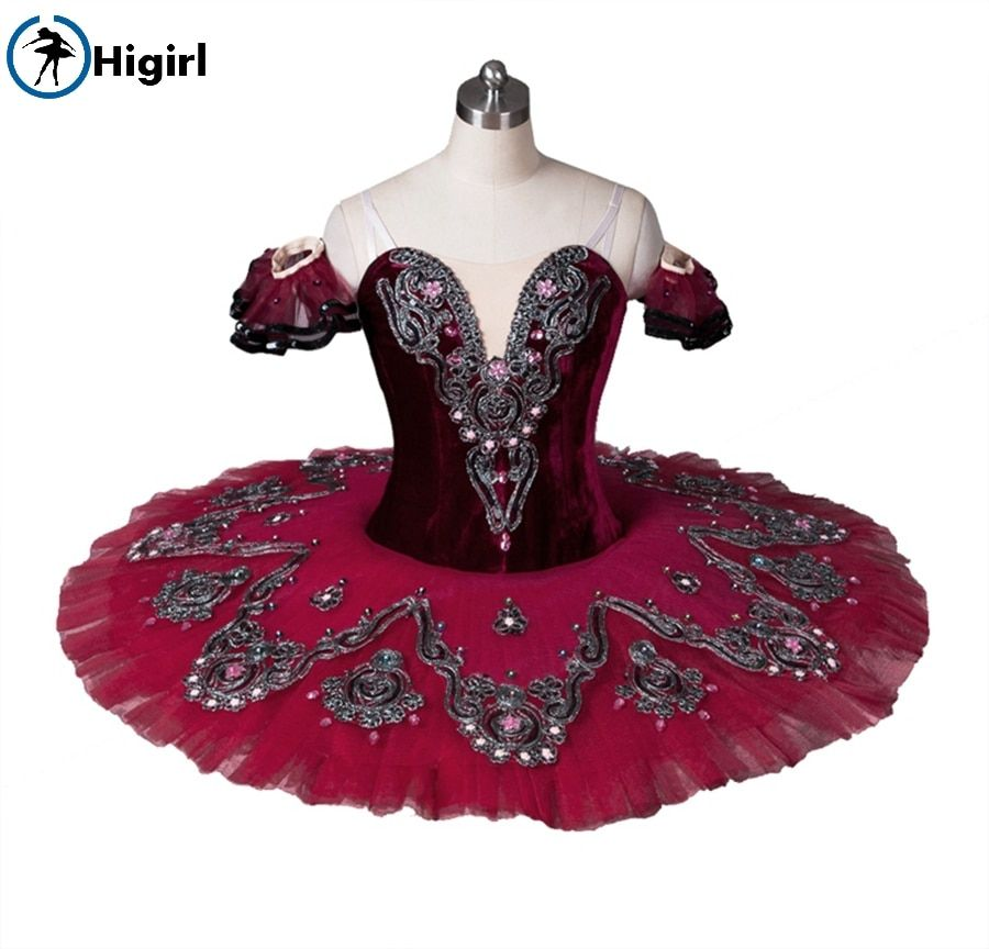 Burgundy ballet tutu for girls,red ballet tutu,blue professional tutu ballet costumeBT8992B