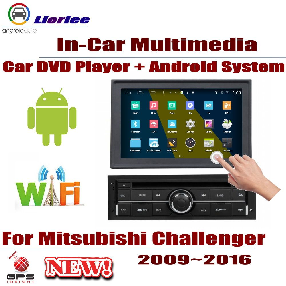 Für Mitsubishi Challenger/Nativa 2009 ~ 2016 Auto Android-Player DVD GPS Navigation Bildschirm Radio Stereo Integrierte Multimedia