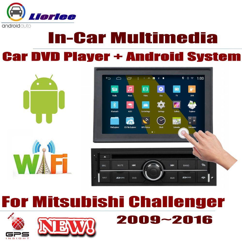Für Mitsubishi Challenger/Nativa 2009 ~ 2016 Auto Android-Player DVD GPS Navigation Bildschirm Radio Stereo Integrierte Multimedia
