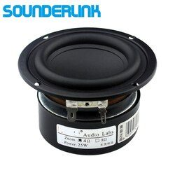 1 PC Sounderlink Audio Labs 3'' 25W subwoofer woofer bass raw speaker driver 4 Ohm 8Ohm for DIY home theater monitor audio