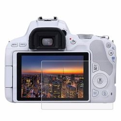 PULUZ for Canon EOS 200D Camera 2.5D Curved Edge 9H Surface Hardness Tempered Glass Screen Protector