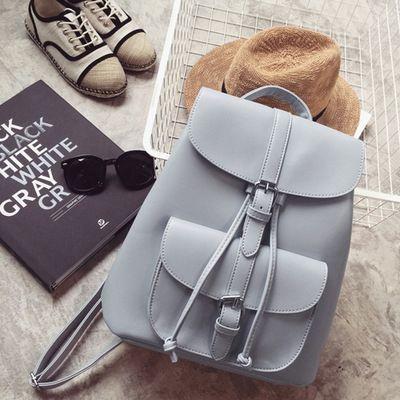 Miyahouse PU sacs à dos en cuir à la mode femme cordon sacs de voyage rétro sacs d'école femmes haute qualité sac à dos Mochila