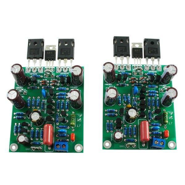 Class AB MOSFET L7 Audio Power Amplifier DUAL-CHANNEL 300-350WX2 Amplifier Board by LJM