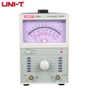 UNI-T UT621 UT622 Analog voltage/digital voltmeter/analog multimeter 100uV-300V Millivoltmeter