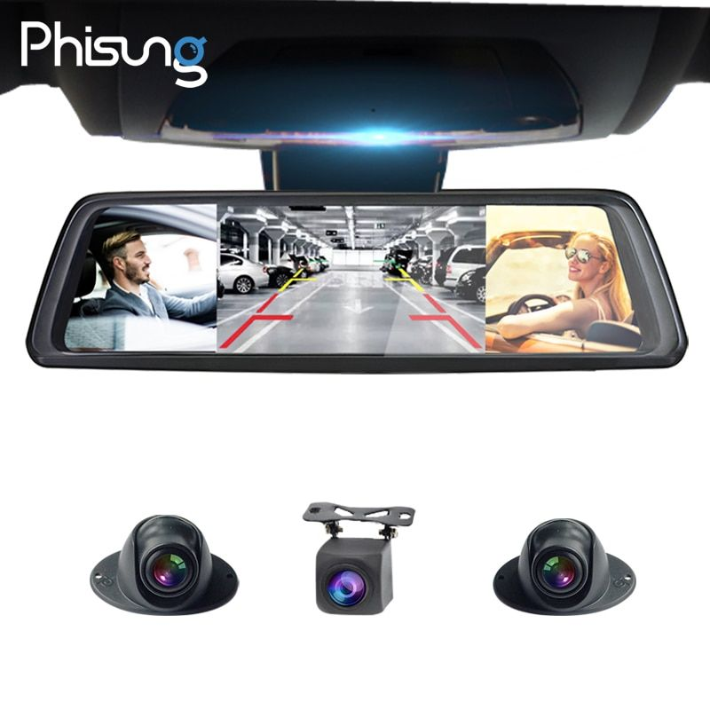 Phisung V9 Plus with 4CH Cameras lens 10