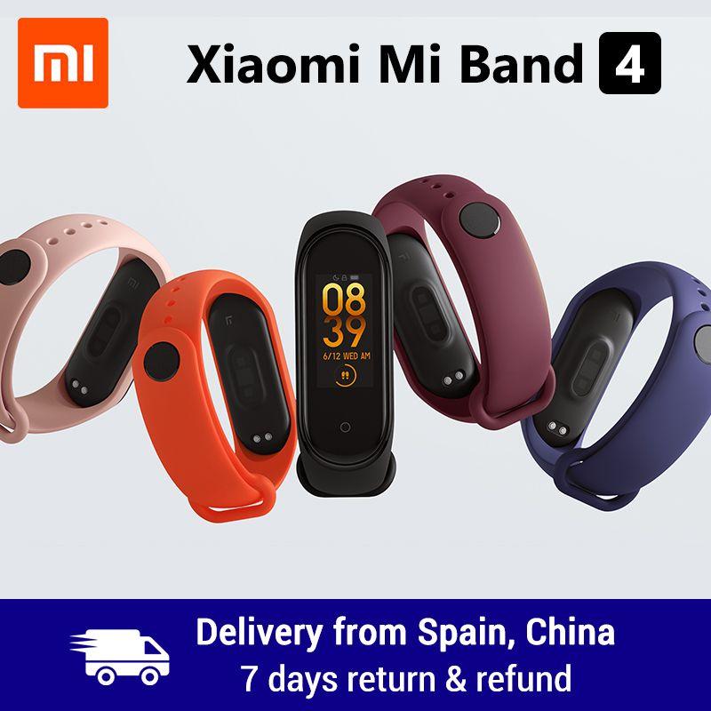 Xiaomi Mi Band 4 Smart Band 0.95inch AMOLED 120X240 Full Color Screen Bluetooth 5.0 Wristband 50m Waterproof Smart Bracelet
