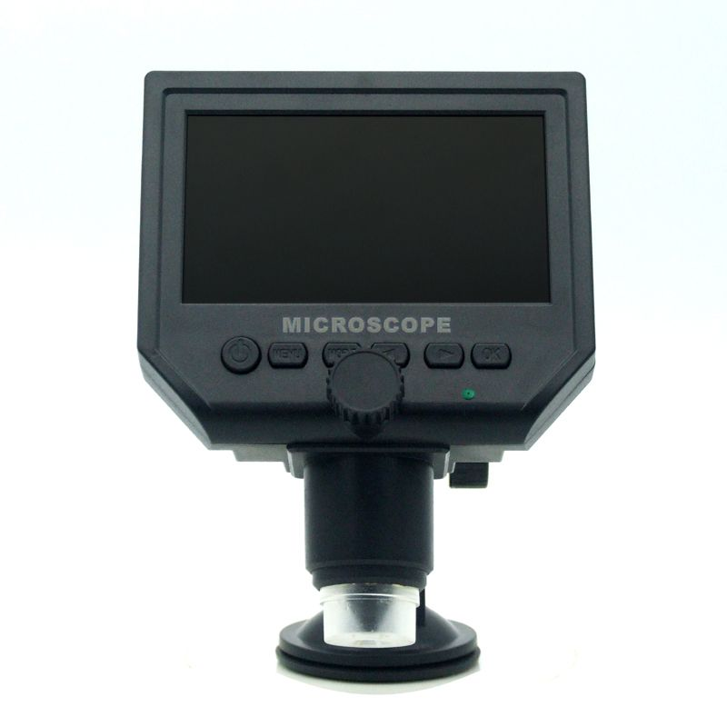 600X 4.3 LCD USB Digital Microscope Portable 8 LED 3.6MP VGA Electronic HD Video Microscopes Endoscope Magnifier Camera