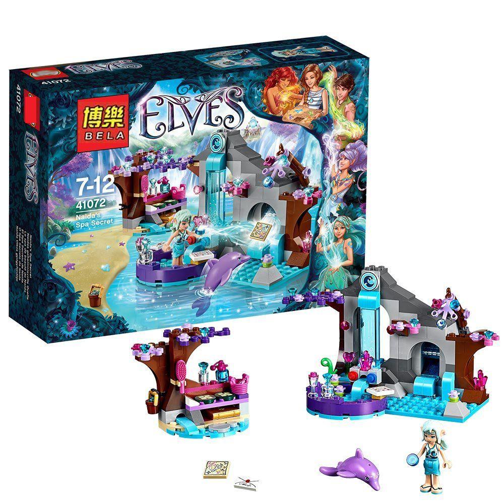 Compatible con lego Bloques de construcción Elfos Naida s Spa Secreto Brinquedos Modelo de Construcción Educación Aprendizaje Juguetes Aficiones