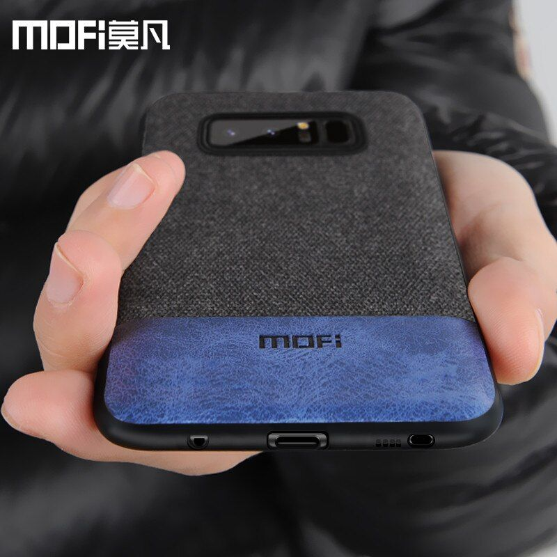 Cas MOFi original pour Samsung S8 couverture arrière pour samsung galaxy note 8 cas silicone bord note8 coque capas pour galaxy s8 + cas