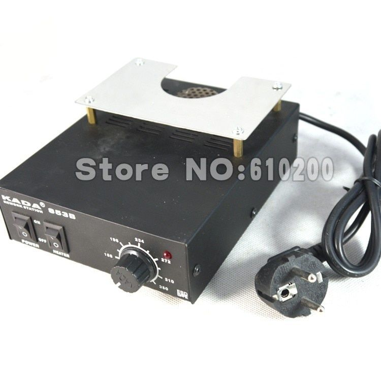 High power ESD BGA rework station PCB preheat and desoldering IR preheating station Soldering Station electric soldering iron