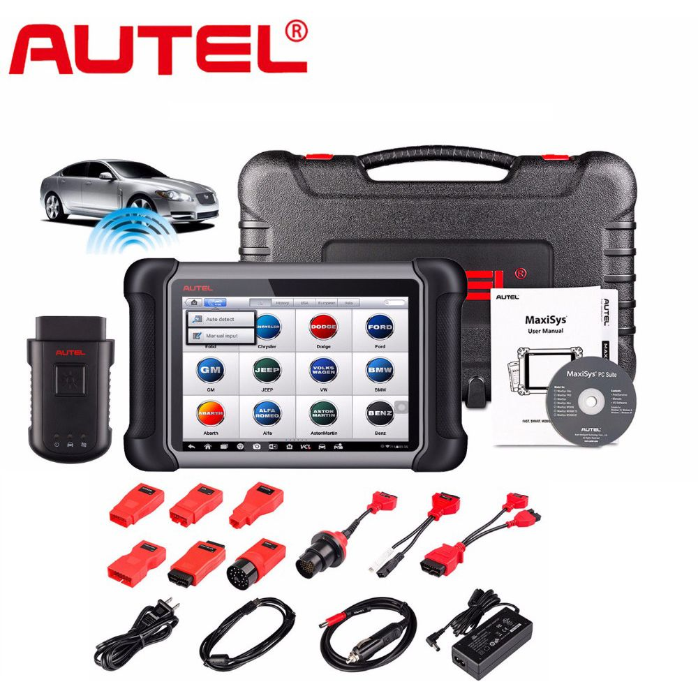 Autel MaxiSys MS906BT MS906 BT Wireless OBD2 Car Diagnostic-Tool OBD 2 Autoscanner Better than DS708 Auto Diagnostic Tool