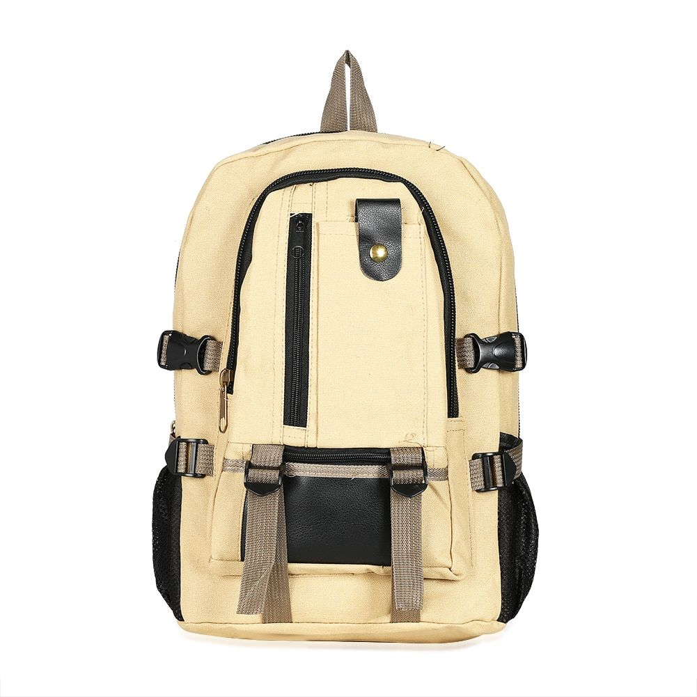 3546G Vintage Men Women Canvas Backpacks School Bags for Teenagers Fashion Men