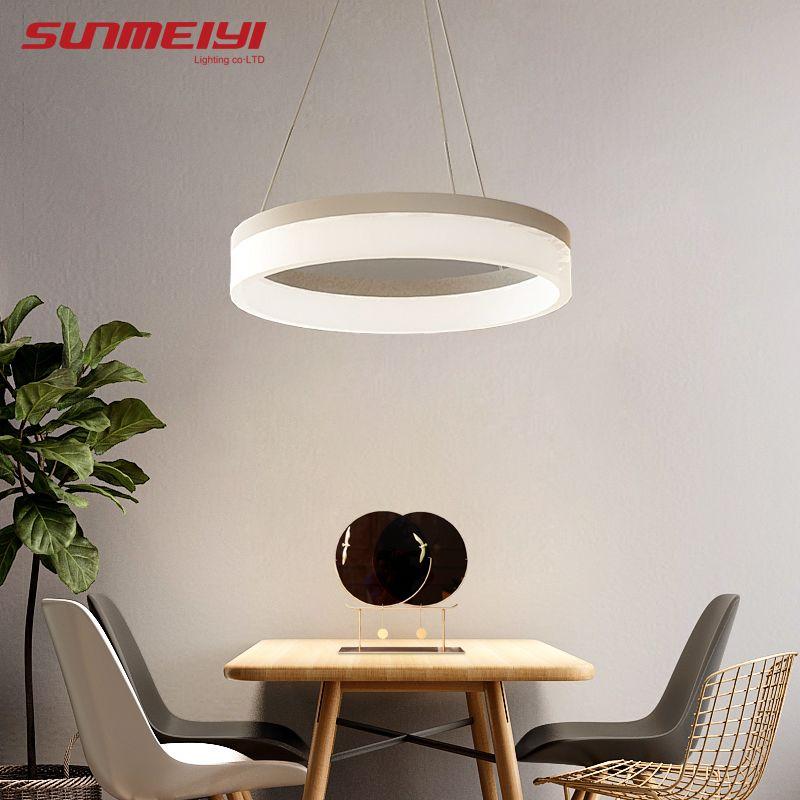 2018 Simple LED Pendant Lights For Bedroom lamparas colgantes pendientes Home Decoration Lamp Lighting hanglamp luminaire