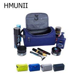 Новая Водонепроницаемая мужская сумка для макияжа, нейлоновый дорожный Органайзер сумка для косметики для женщин, Несессер для макияжа