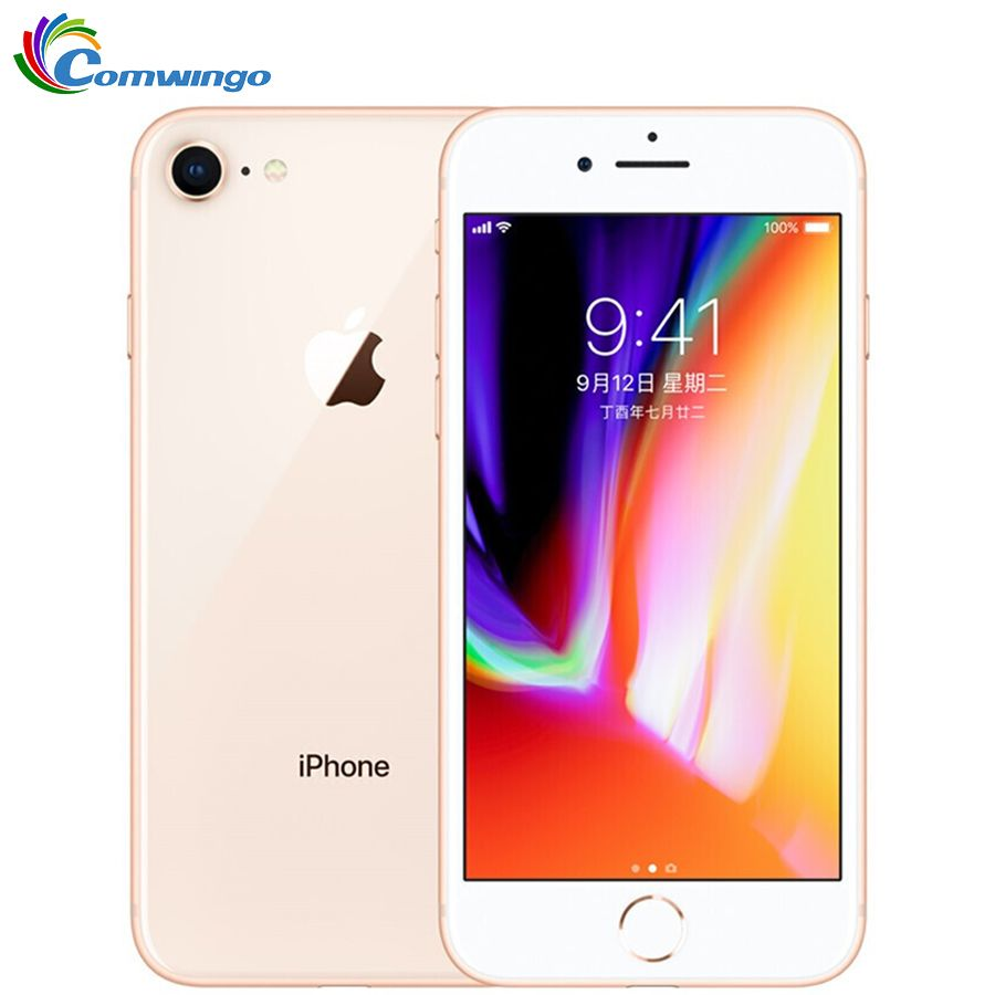 Original Apple iPhone 8 1821mAh 2GB RAM 64 GB/256 GB LTE 12.0MP Kamera 4,7