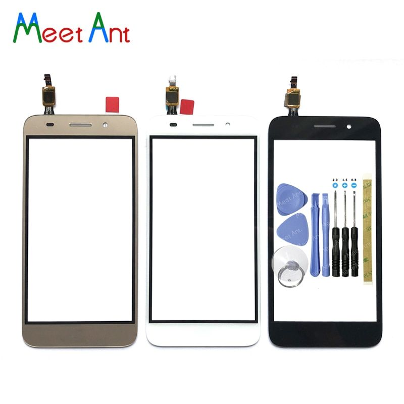 high Quality For Huawei Y3 2017 CRO-U00 CRO-L02 CRO-L22 Touch Screen Digitizer Sensor Outer Glass Lens Panel For Y5 lite