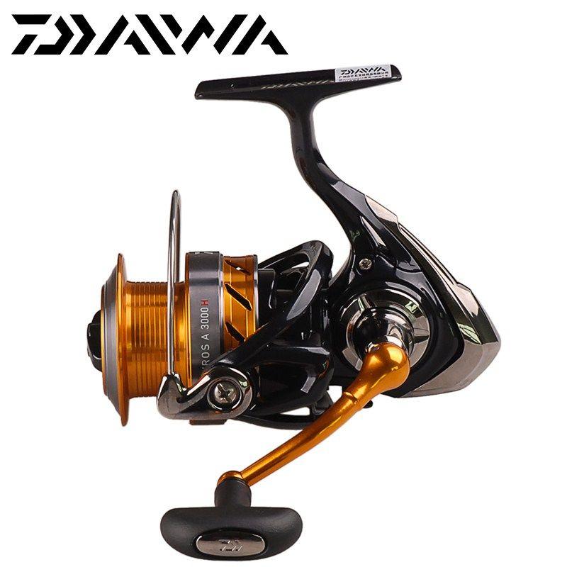 DAIWA Spinning Fishing Reel REVROS A2000/2500/3000H/3500/4000 4+1BB/2-8kg Carretes Pesca Lure Reels Carretilha Moulinet Peche