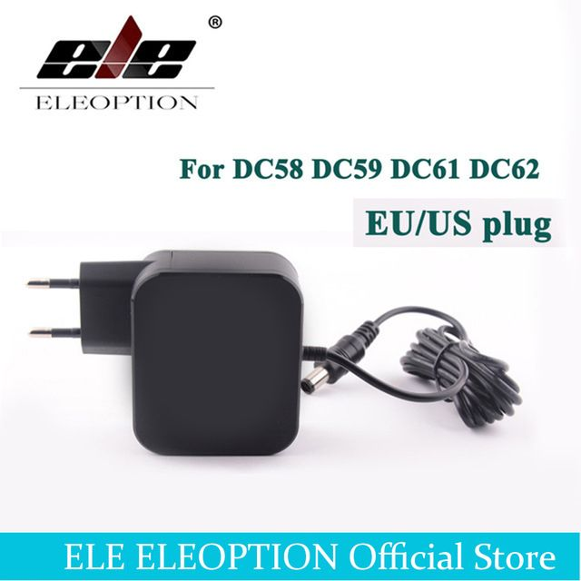 ELEOPTION DC58 AC Adaptateur Batterie Chargeur pour Dyson DC58 DC59 DC61 DC62 V6 SV03 Vide 64506-07 AC100-240V L'UE /US Plug