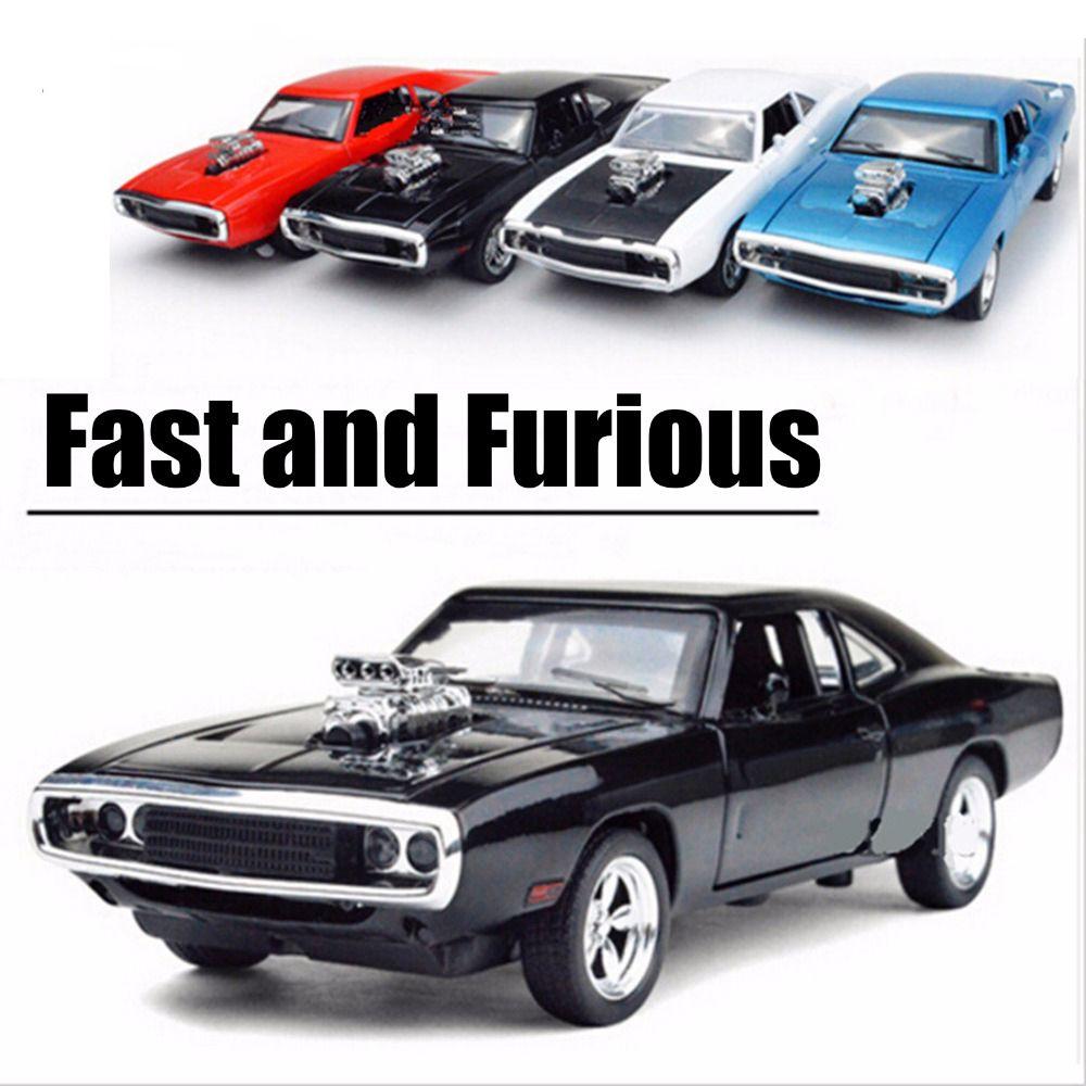 1:32 echelle rapide et furieux modèle voitures à l'échelle 1970 Dodge chargeur modèle voiture en alliage jouet voitures moulé sous pression jouets pour garçon enfants cadeau