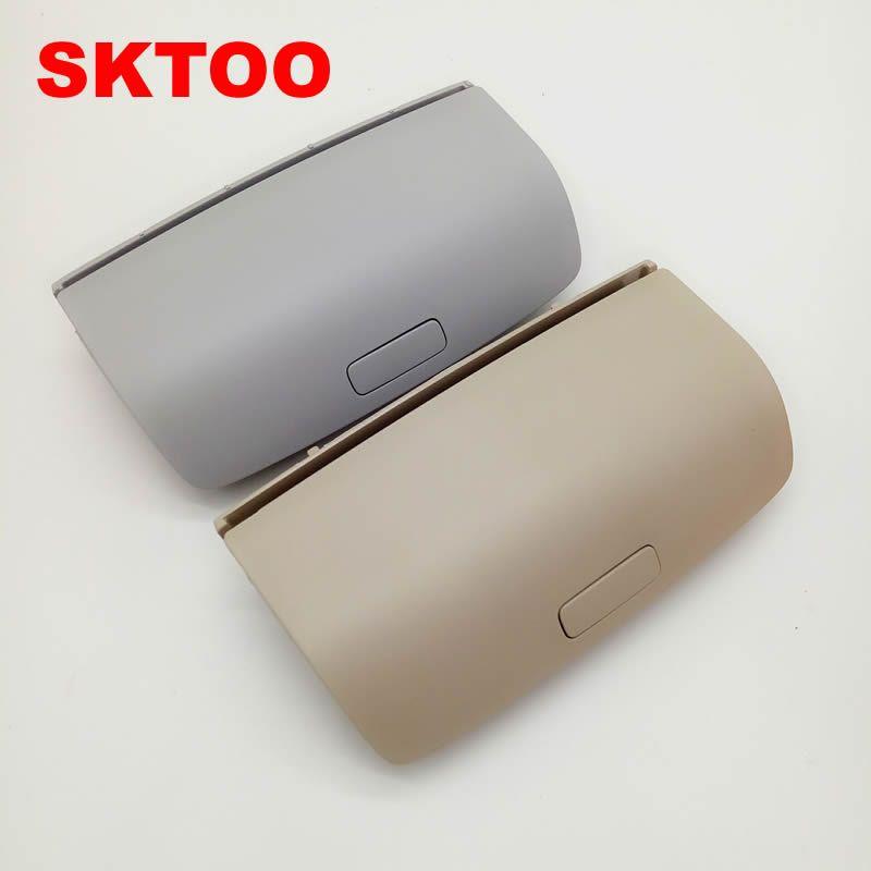 Sktoo для VW Tiguan Гольф MK5 MK6 passatb7 cc Skoda Superb Yeti Черный, серый цвет БЕЖЕВЫЙ Солнцезащитные очки для женщин коробка Защита от солнца Автомобильные де...