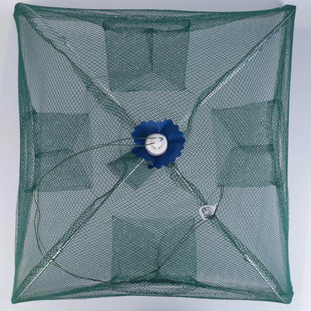 Foldable Fishing Bait Net Trap Cast Dip Cage Crab Fish Minnow Crawdad Shrimp free shipping
